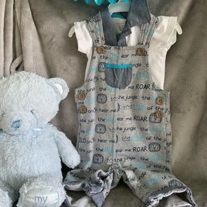 Koala Baby Overall Outfit 0-3 months old